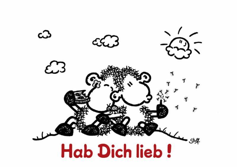 sheepworld - Ich hab Dich sooo lieb! Geschenkbuch von Steff - Buch ...