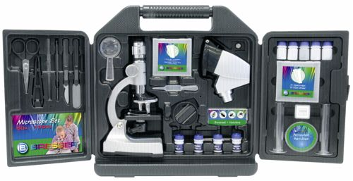 Bresser junior mikroskop set inkl koffer portofrei