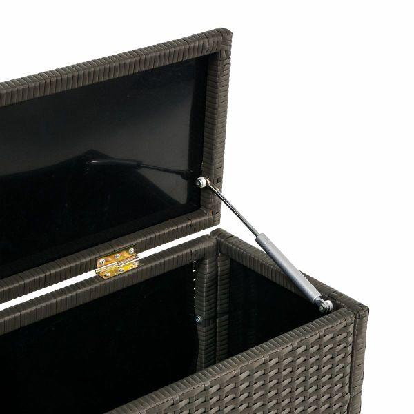 details zu kissenbox rattan truhe f r auflagen box rattanbox pictures to pin on pinterest. Black Bedroom Furniture Sets. Home Design Ideas