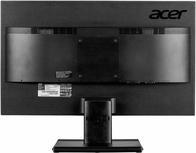 acer v246hlbmd 60 6 cm 24 zoll monitor vga dvi 5ms reaktionszeit schwarz. Black Bedroom Furniture Sets. Home Design Ideas