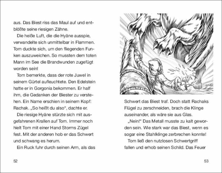 rachak, die frostklaue / beast quest bd.42 von adam blade