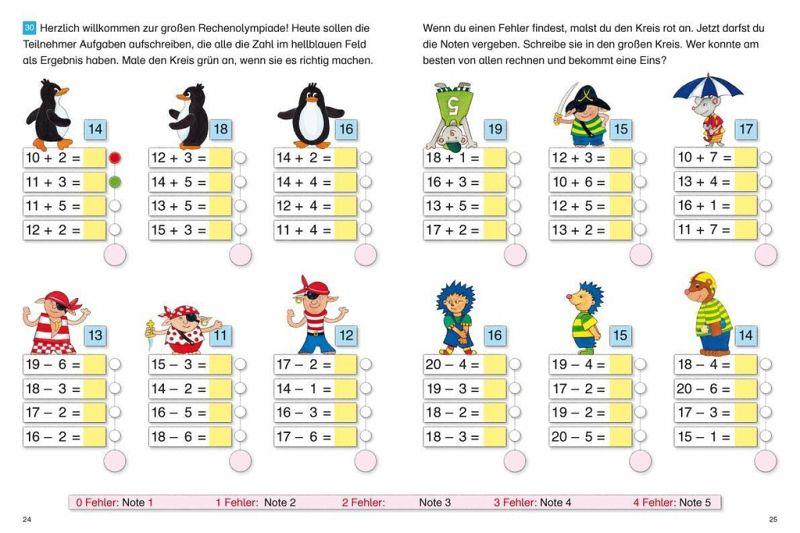 rechnen lernen 1 klasse online kostenlos