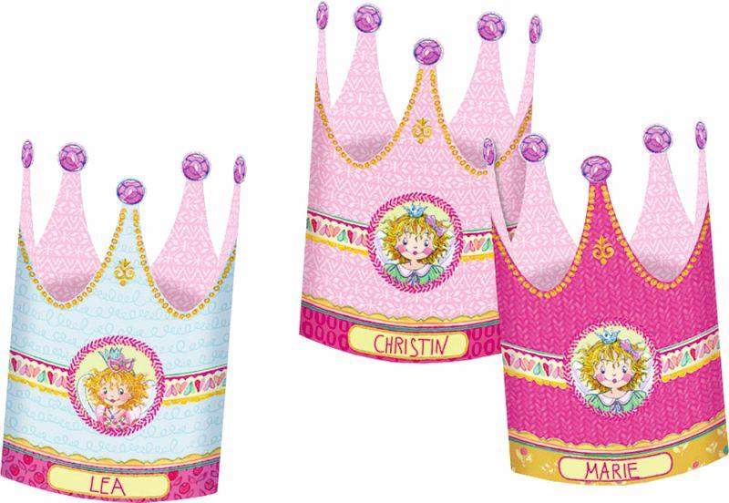 Prinzessin Lillifee - 10 zauberhafte Einladungen, Einladungskarten ...