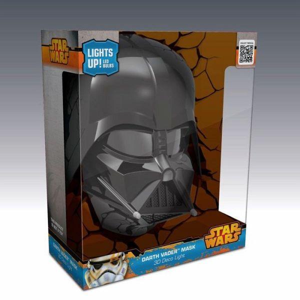 3d deko licht star wars darth vader maske inkl for Star wars deko