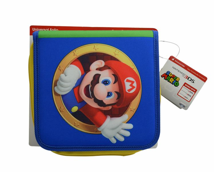 super mario bros universal tasche 2ds 3ds 3ds xl. Black Bedroom Furniture Sets. Home Design Ideas