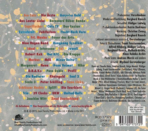 Ndw die neue deutsche welle 1977 85 teil 2 cd for Die neue deutsche welle