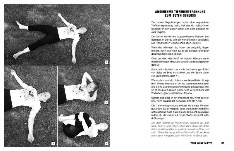 FREE YOGA Jederzeit an jedem Ort - 50 Yoga-Routinen ohne Matte von ...