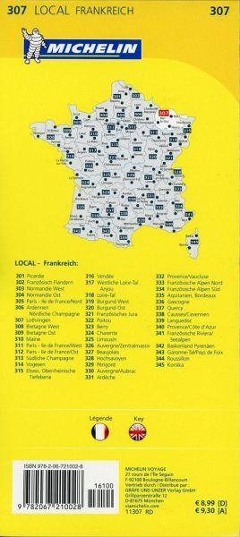 Lothringen Karte.Michelin Karte Lothringen