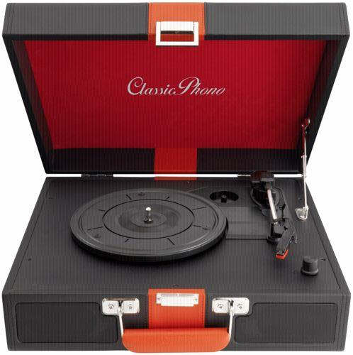 classic phono tt 33 koffer plattenspieler im retro stil. Black Bedroom Furniture Sets. Home Design Ideas