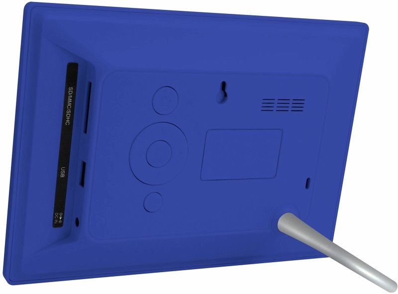 braun digiframe 709 blau 17 8 cm 7 zoll bilderrahmen 800 x 480 pixel 16 9 portofrei. Black Bedroom Furniture Sets. Home Design Ideas