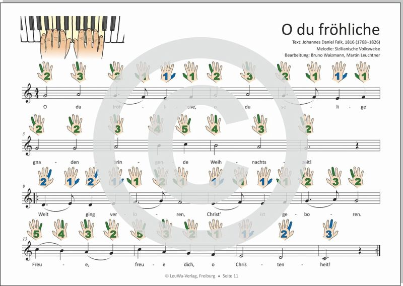 einfacher geht nicht 24 weihnachtslieder f r klavier und. Black Bedroom Furniture Sets. Home Design Ideas
