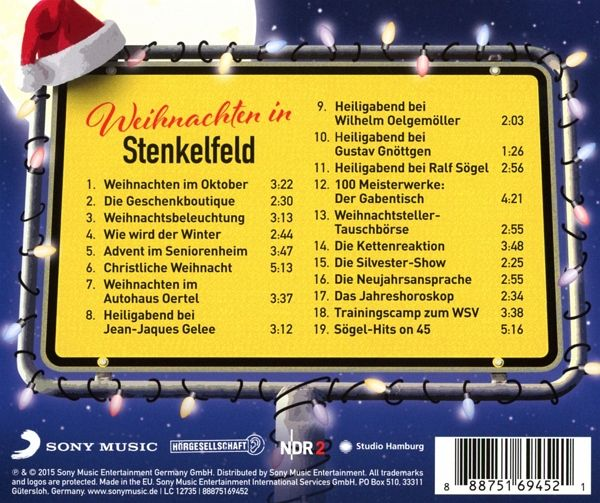 weihnachten in stenkelfeld 1 audio cd stenkelfeld. Black Bedroom Furniture Sets. Home Design Ideas