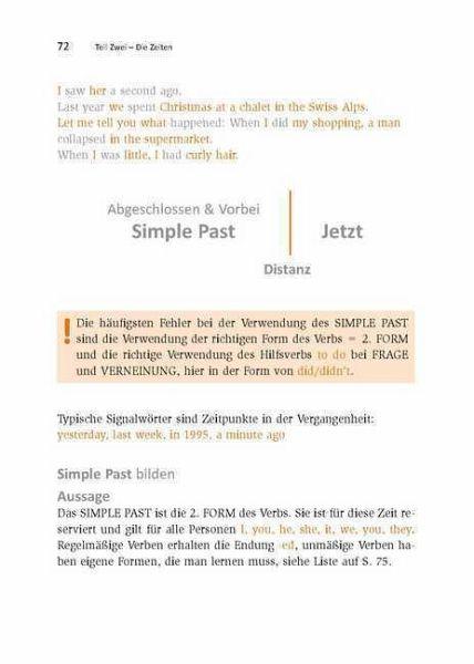 zur bildergalerie - Simple Past Beispiele