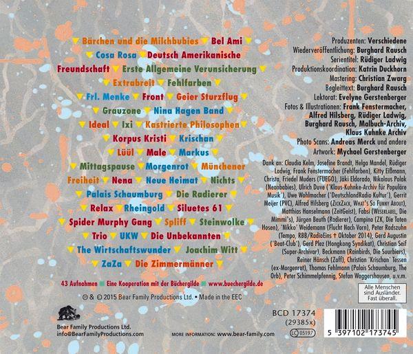 Ndw die neue deutsche welle 1977 85 teil 4 cd for Die neue deutsche welle