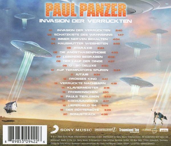 paul panzer invasion der verrГјckten dvd