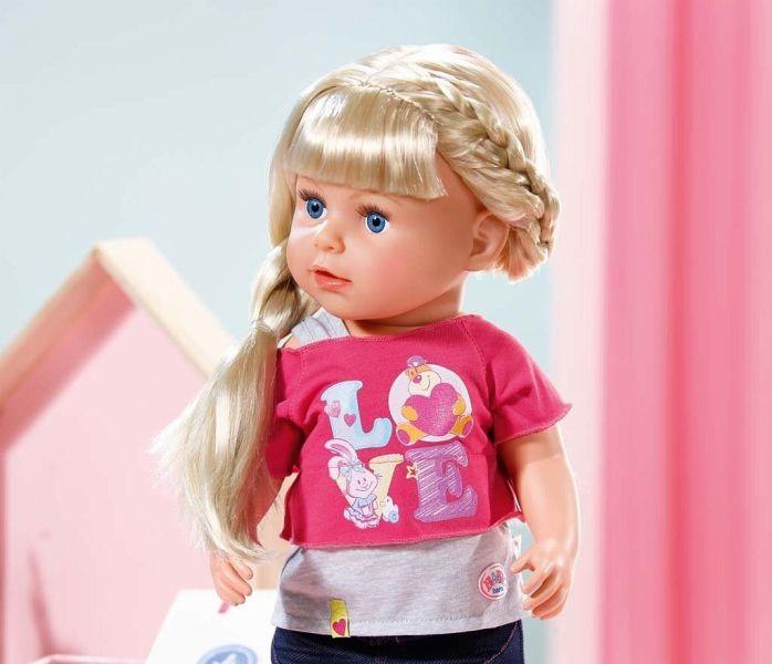 Puppe Creation SisterInteractive Baby Zapf Born® 820704 JFlKcT1