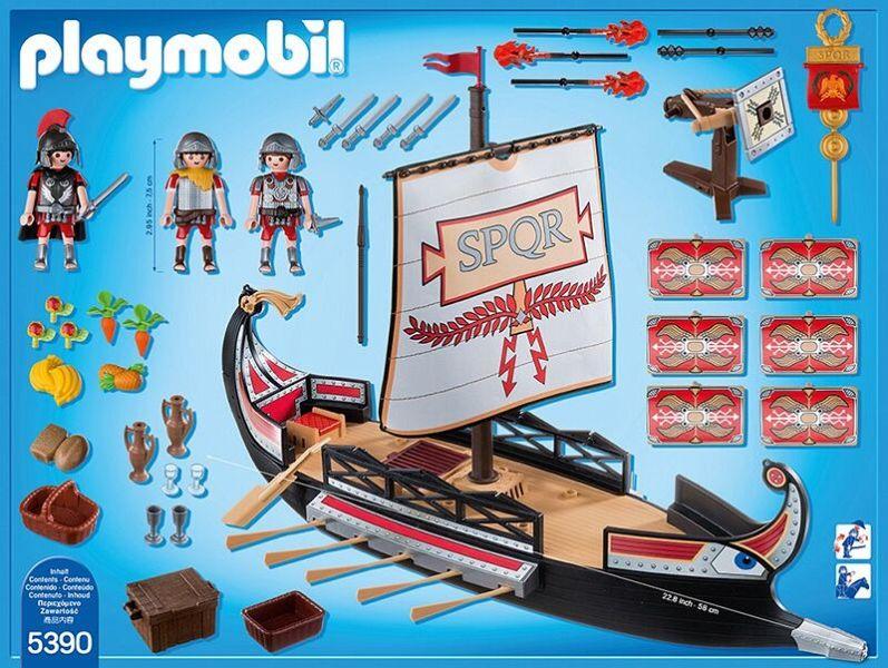 playmobil 5390 römische galeere  buecherde