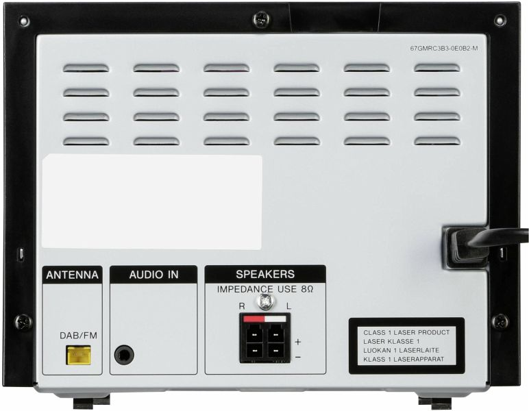 Sony CMT-SBT20B Micro-Systemanlage (Kompakte Design, CD ...