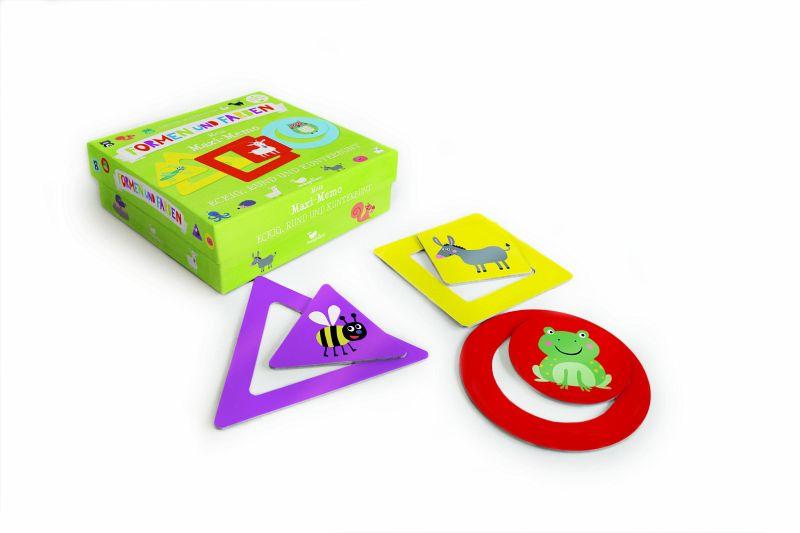 Formen und Farben - Mein Maxi-Memo (Kinderspiel) - buecher.de