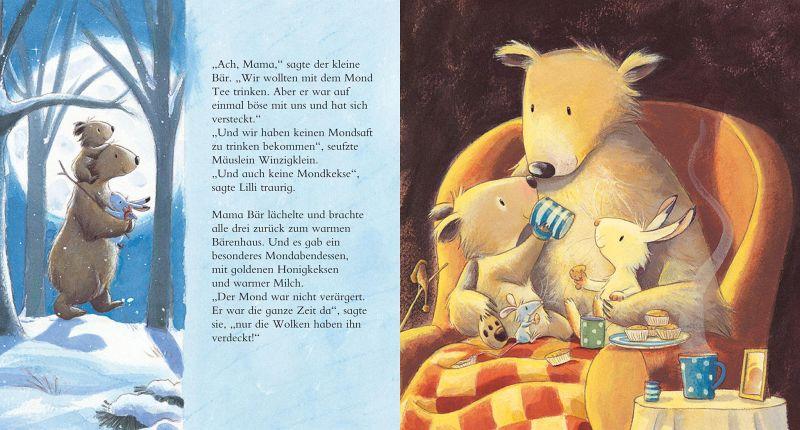 Kleine Bären Wars der kleine bär und das mondscheinwunder gillian lobel buch