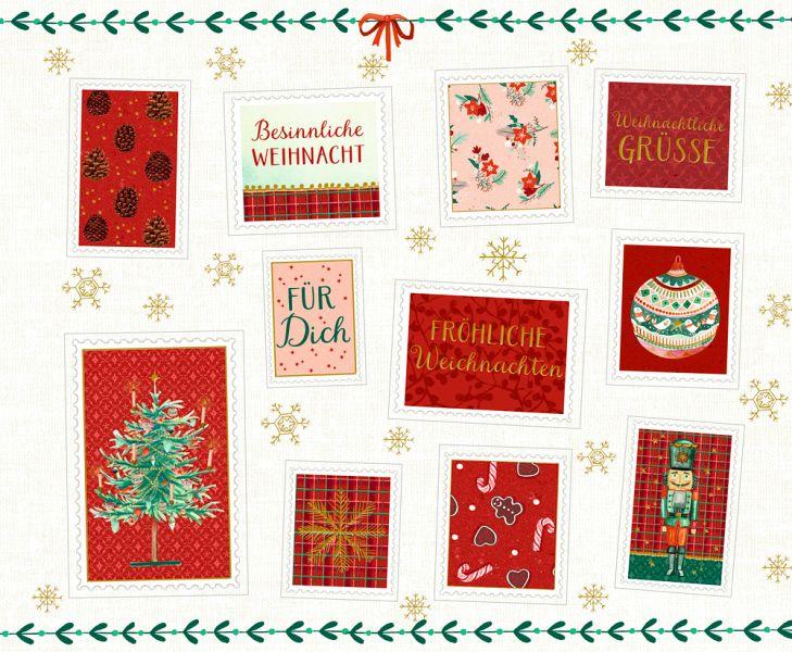 Stickerbuch weihnachtspost f r dich buch - Bilder weihnachtspost ...