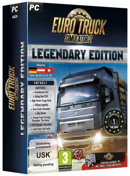 euro truck simulator 2 legendary limited edition pc. Black Bedroom Furniture Sets. Home Design Ideas