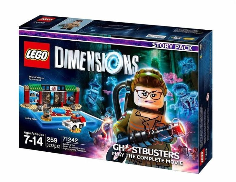 lego dimensions story pack new ghostbusters figuren lego steine. Black Bedroom Furniture Sets. Home Design Ideas