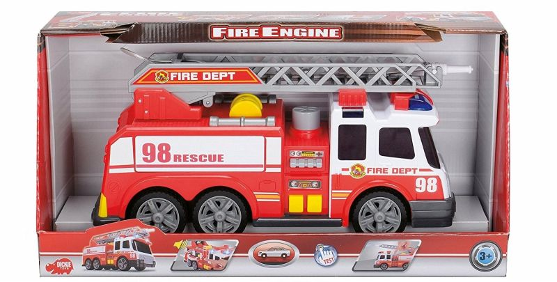 dickie toys 203308358 action series fire brigade feuerwehrauto 39 cm bei b immer. Black Bedroom Furniture Sets. Home Design Ideas
