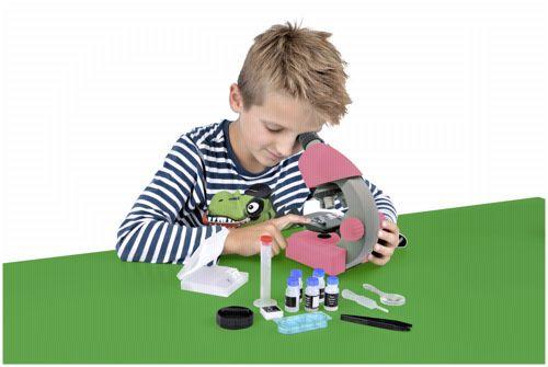 Bresser junior mikroskop rosa portofrei bei bücher