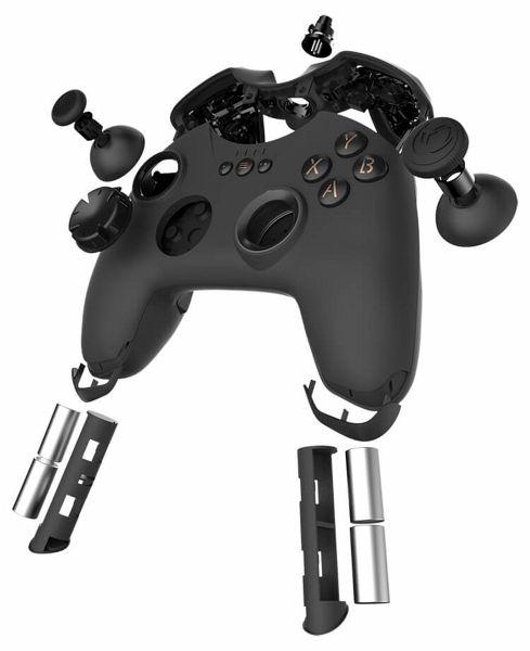 nacon gc 400es alpha red pro gaming controller. Black Bedroom Furniture Sets. Home Design Ideas