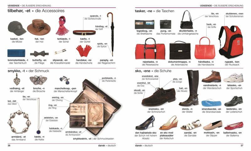 visuelles w rterbuch d nisch deutsch portofrei bei b bestellen. Black Bedroom Furniture Sets. Home Design Ideas