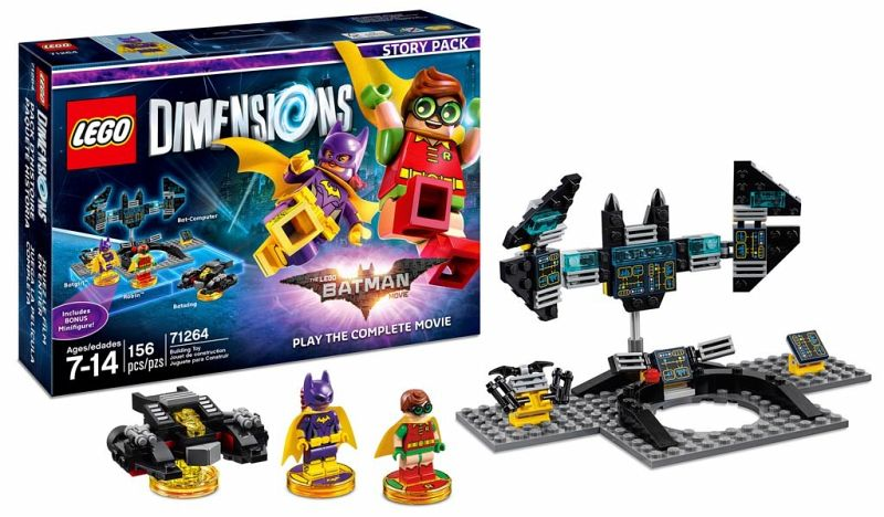 lego dimensions story pack batman movie figuren lego steine. Black Bedroom Furniture Sets. Home Design Ideas