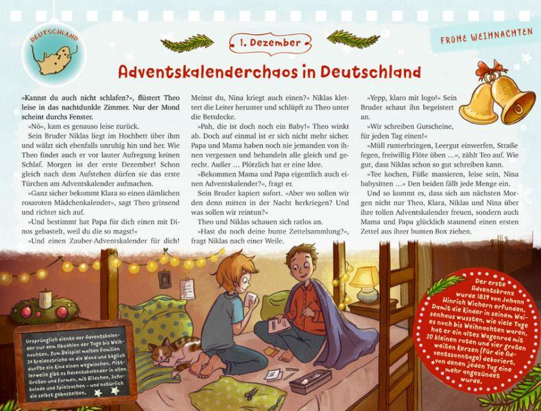 advents tischkalender weihnachten mit kindern aus aller. Black Bedroom Furniture Sets. Home Design Ideas
