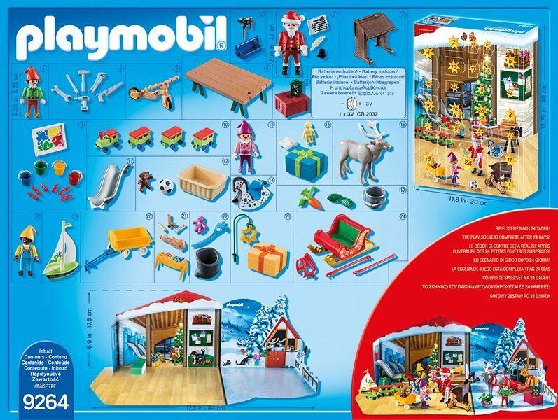 playmobil 9264 adventskalender wichtelwerkstatt bei b immer portofrei. Black Bedroom Furniture Sets. Home Design Ideas