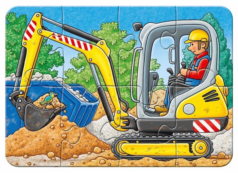 8 Teile 4 Ravensburger 069545 My First Puzzle Bei der Arbeit 2 6