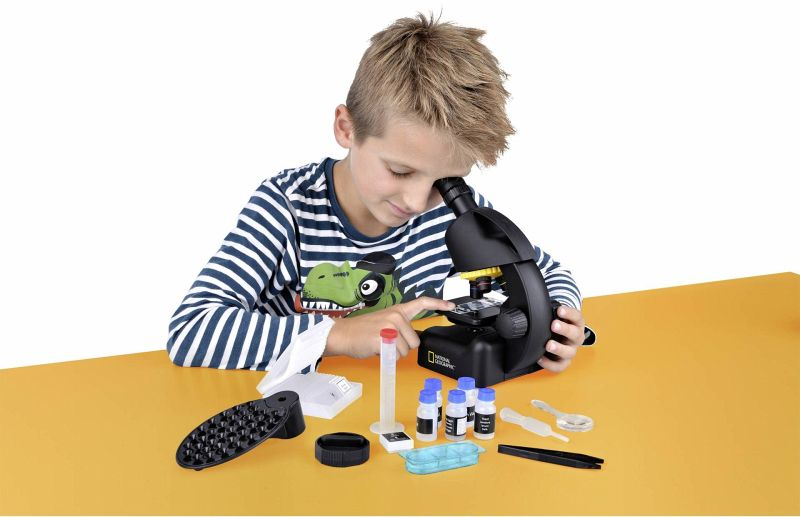 National geographic mikroskop inkl. smartphone adapter portofrei