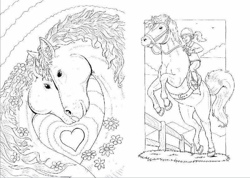 Beste Malbuch Pferde Bilder - Framing Malvorlagen - thehomeloansinfo ...