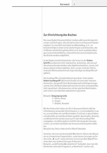 Duden Das Große Kreuzworträtsel Lexikon Mängelexemplar Portofrei