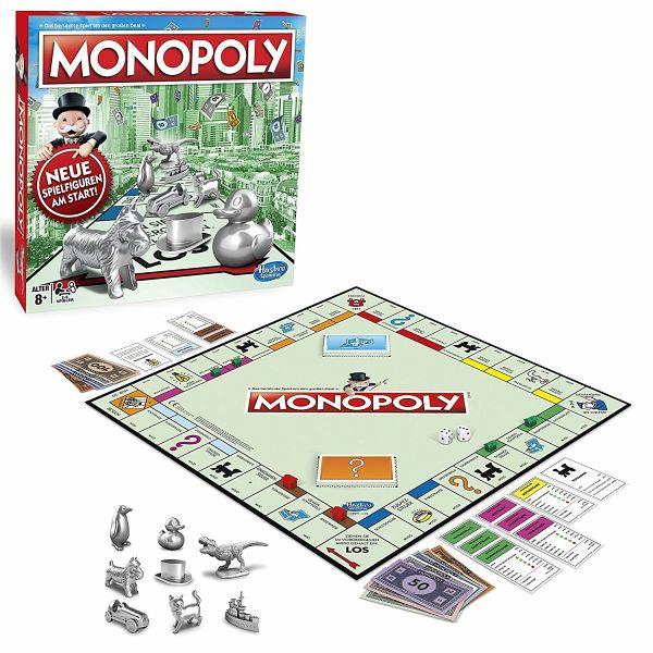 hasbro c1009100 monopoly classic familienspiel. Black Bedroom Furniture Sets. Home Design Ideas