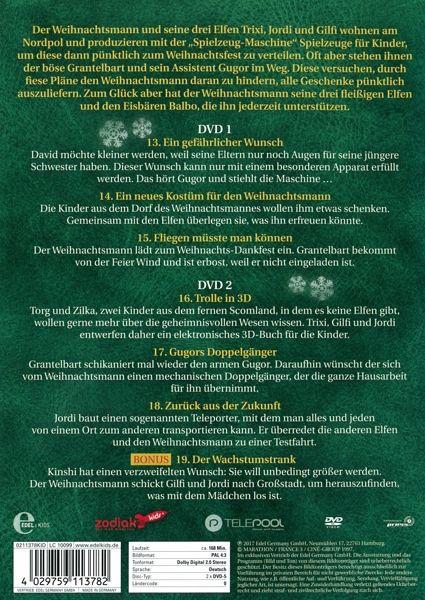 weihnachtsmann co kg vol 3 folgen 13 19 2 disc dvd. Black Bedroom Furniture Sets. Home Design Ideas