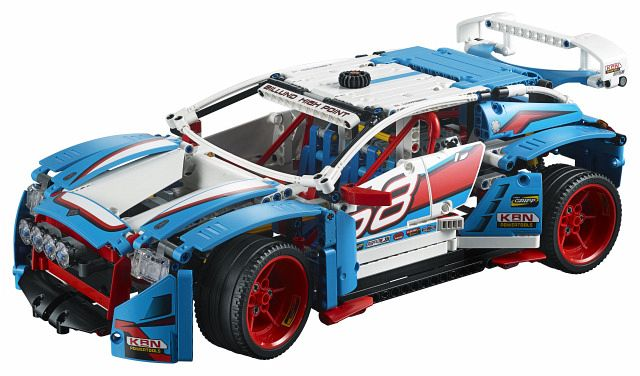 lego technic 42077 rallyeauto. Black Bedroom Furniture Sets. Home Design Ideas