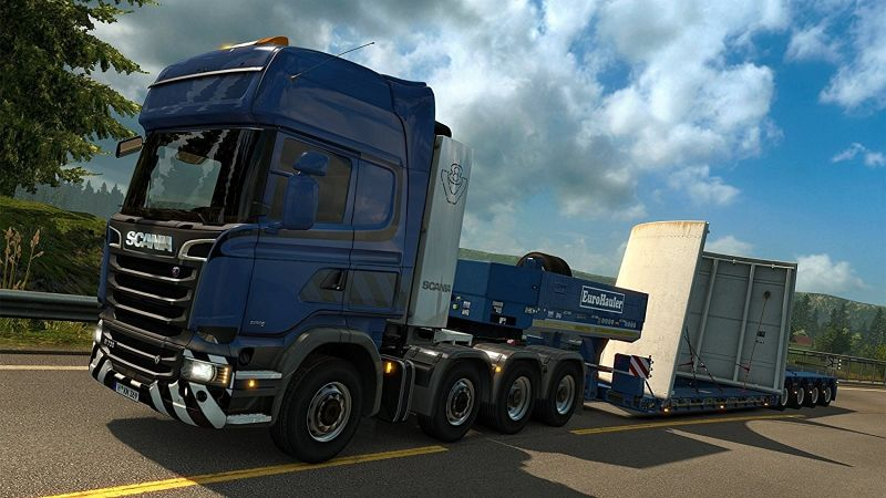 euro truck simulator 2 heavy cargo dlc pack games versandkostenfrei bei b. Black Bedroom Furniture Sets. Home Design Ideas