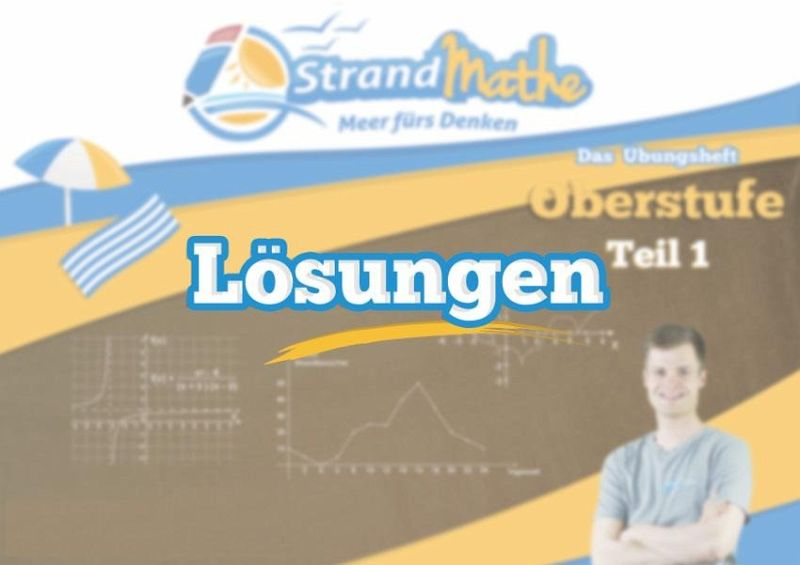 StrandMathe Lösungsheft zu Oberstufe Teil 1-4: Lösungswege ...
