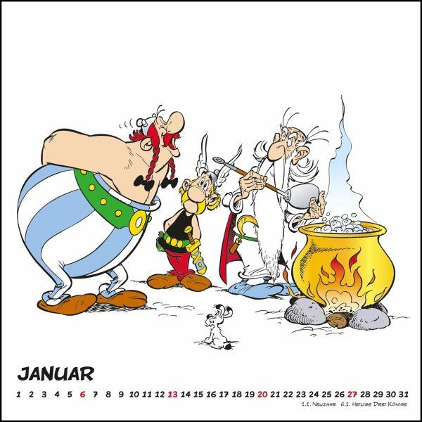 asterix 2019 wandkalender im quadratformat kalender. Black Bedroom Furniture Sets. Home Design Ideas