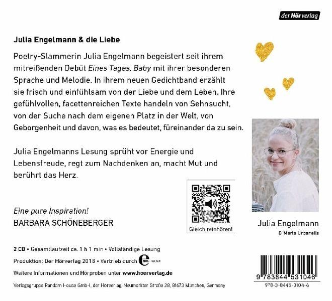 keine ahnung, ob das liebe ist, 2 audio-cd von julia