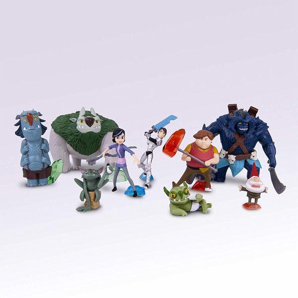Trolljäger 3er Set mit Jim Bular Goblin Spielfiguren Simba