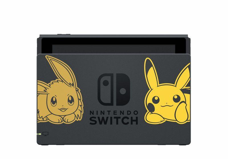 Nintendo Switch Pokémon Let S Go Pikachu Bundle Nintendo Switch