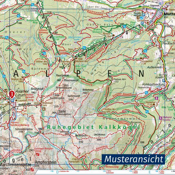 Tannheimer Tal Karte.Kompass Wanderkarte Tannheimer Tal