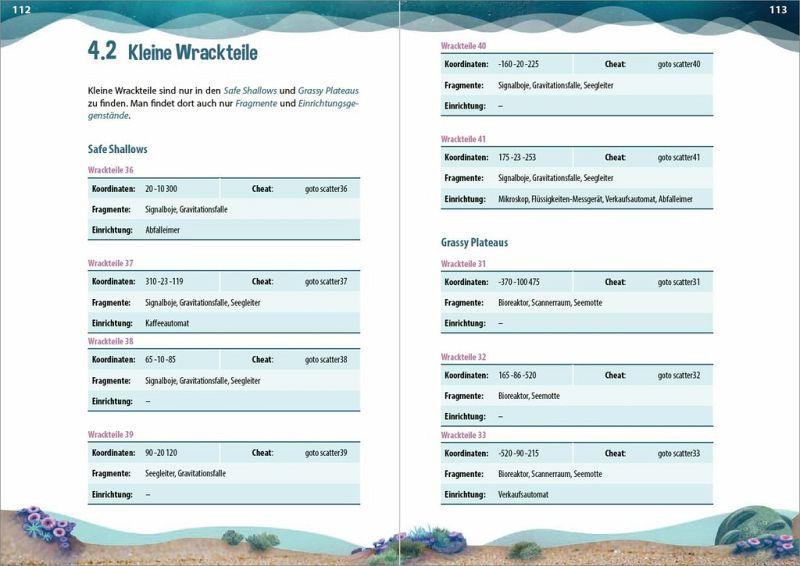 Subnautica Karte Deutsch.Das Inoffizielle Handbuch Zu Subnautica
