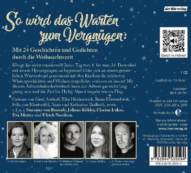 Weihnachtsgedichte Von Wilhelm Busch.Morgen Kinder Wirds Was Geben 1 Audio Cd